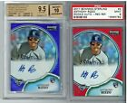 2011 Bowman Sterling Anthony Rizzo Red Refractor Auto RC 1 1 PSA 9 Superfractor