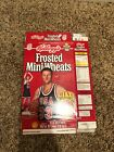 LARRY BIRD Limited Edition 1992 Kellogg's Frosted Mini-Wheats Olympic Cereal Box