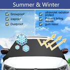 Car Covers Windshield Magnet Windscreen Sun Cover Snow Shade Ice Frost Removal