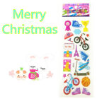 Hot Cheap New Style Bicycle Stereoscopic Puffy Bubble Wall Stickers Kids Gifts