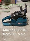Makita chainsaw Dcs540