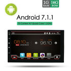 Android 71 Car GPS Sat Navi Radio Bluetooth USB Wifi AUX MP3 Stereo for All