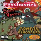 PSYCHOSTICK - Space Vampires Vs. Zombie Dinosaurs In 3-d - CD - RARE