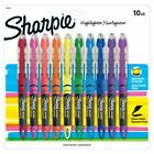 Sharpie Liquid Accent Pen Style Highlighters Assorted Colors Pack Of 10