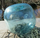 Japanese Fishing Blown Glass Float 5