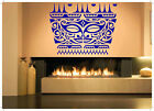Vinyl Sticker Aztec Native Tribal Mask Ornament Mural Decal Wall Art Decor ZX361