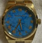 Michael Kors MK5894 Turquoise Dial Gold-tone Ladies Watch