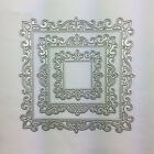 Square Card Making Metal Cutting Dies 1111cm Embellishments Silver DIY Crafts