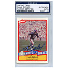 Frank Gifford Cards, Rookie Cards and Autographed Memorabilia Guide 40