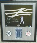 DEREK JETER SIGNED YANKEES CAPTAINS PHOTO DON MATTINGLY GUIDRY FRAMED STEINER