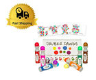 8-pack Washable Dot Markers / Bingo Daubers Dabbers Dauber Dawgs Kids new colors