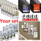 Photo Frame Set Format Lot Wall Art Home Decor Float Picture Frames Collage