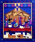 Cranston Christmas Nativity Quilt Wall Hanging Panel 355 x 43