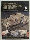 AIRBRUSHING AND WEATHERING TECHNIQUES BY VALLEJO By Rob Ferreira **BRAND NEW**