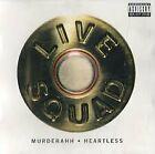LIVE SQUAD - Murderahh/heartless - CD - Single - **Mint Condition** - RARE