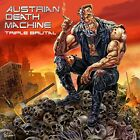 AUSTRIAN DEATH MACHINE - Triple Brutal - CD - Extra Tracks - Excellent Condition