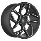 4 GWG BREMEN 20 inch STAGG Satin Black Machine Rims fits PONTIAC G8 2008 2009