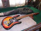VINTAGE NORMA 3-PICKUP GUITAR  JAPAN-MADE Unique Jensens Body