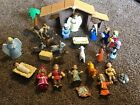 Tales Of Glory Childrens Nativity Set  Real Bible Story Figures PVC David Jesus