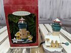 Hallmark ornament keepsake magic holiday xmas lighthouse greetings collections