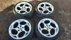 Renault Megane mk3 Alloy Wheels with Tyres 225 40 18