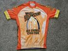 West Yellowstone Old Faithful Cycle Tour Cycling Jersey Size XL