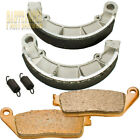 Front Rear Brake Pads shoes For 2004 2005 2006 2007 Honda VT 750 Shadow Aero