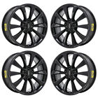 20 LINCOLN MKS MKT GLOSS WHEELS RIMS FACTORY OEM SET 3824