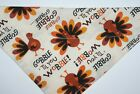 Dog Bandana OVER THE COLLARclothes pet Size SMLXL Thanksgiving Gobble