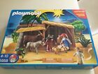 Playmobil Nativity 5958 Christmas Manger Set Excellent Used Condition