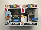 Funko Pop! Teen Titans Go! Lot Of 2 #335 Raven and #110 Cyborg Walmart Exclusive