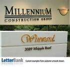 Acrylic Sign Letters 14 Thick