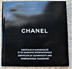 VINTAGE CHANEL  J12  CHRONO WATCH OPERATING INSTRUCTIONS BOOKLET DATED 2005