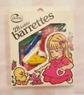 Vintage 1982 Goody 28 Kiddie Barrettes EASTER THEME BOX with Paper Doll on Box