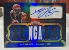 1 1 2011 A.J. Green Topps Triple Threads Auto Autograph 18 18 And 18 18 Unity 🤑