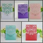 10PCS Printing Cards 3D Butterfly Exquisite hollow Wedding Invitation Card