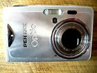 #S&REPAIRS OR FIX 'PENTAX OPTIO S7' 7MP DIGITAL COMPACT CAMERA - WHITE PICTURES#