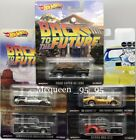 Hot Wheels 2019 Premium Retro Entertainment CASE M SET OF 5 BTTF Garage Project
