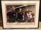 Michael Jordan Larry Bird Magic Johnson Uda DREAM TEAM 16x20 Signed Photo