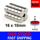 Super Strong N50 Cylinder Neodymium Mini Fridge Magnets Rare Earth New