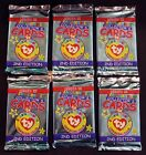 Sealed! TY Beanie Babies, 6 COLLECTOR'S CARD Packs - Series 3,
