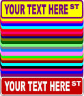 Personalized Custom Street Signs 3 Sizes Many Colors Aluminum