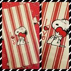 Snoopy Towel HUG LOVE  Hearts AdoRable Decor  Gift Wrapped