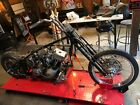 1999 Custom Built Motorcycles Chopper Custom Softail Harley Davidson Chopper Project or For Parts AS IS