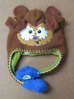 FLIPEEZ Hat Girls Boys Toddler One Size Huggy The Monkey Action Beanie Brown