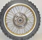 Suzuki RM 125 RM 250 Rear Wheel Rim Hub Tire 19 x 2.15 GOLD 64111-43D00 92-99