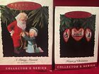 Hallmark A Fitting Moment 1993 and Heart of Christmas 1994 Ornaments