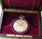 RARE WWII period IWC for GEORG FISCHER AG good condition POCKET WATCH c1942