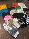 vintage sweaters cardigans sweater vests lot of 24 1970s