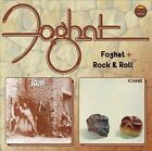 Foghat/Rock and Roll by Foghat (CD, Mar-2012, Edsel (UK)) 2 LP'S ON 1 CD